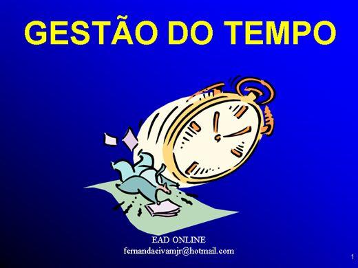 Curso Online de GESTÃO DO TEMPO