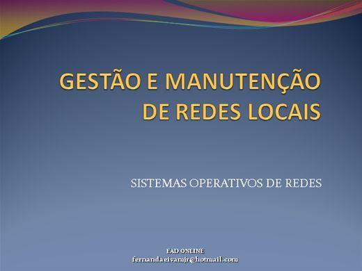 Curso Online de GESTÃO E MANUTENÇÃO DE REDES LOCAIS
