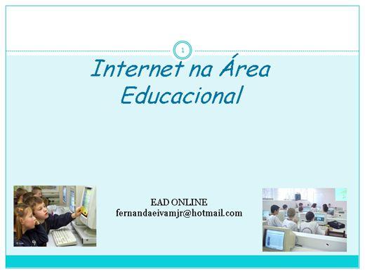 Curso Online de Internet na Área  Educacional
