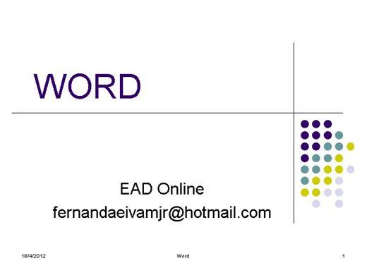 Curso Online de Word Básico