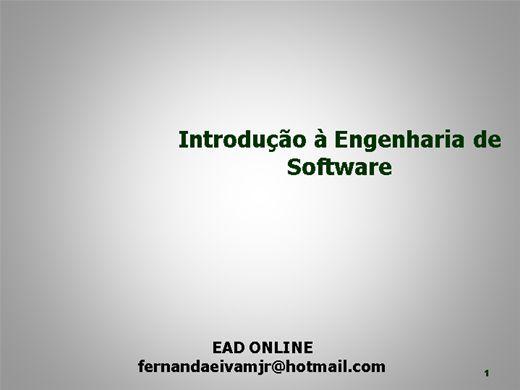 Curso Online de Introdução a Engenharia de Software