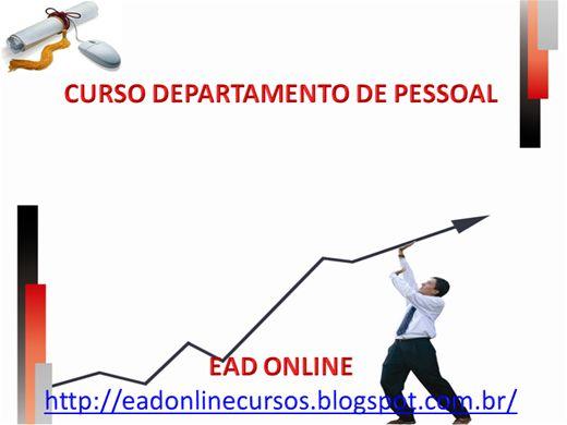 Curso Online de DEPARTAMENTO DE PESSOAL