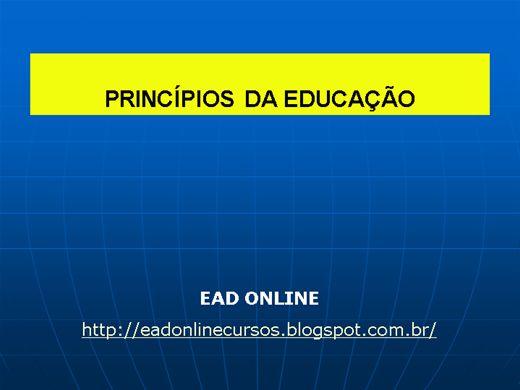 Curso Online de PRINCÍPIOS DA EDUCAÇÃO