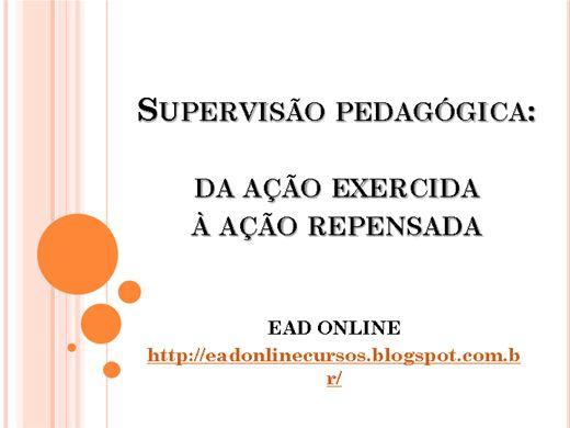 Curso Online de SUPERVISÃO PEDAGÓGICA