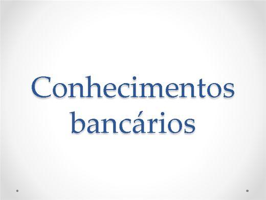 Curso Online de Conhecimentos Bancarios