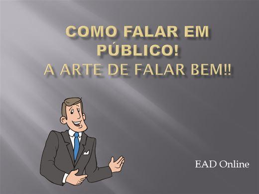 Curso Online de Como Falar em Público