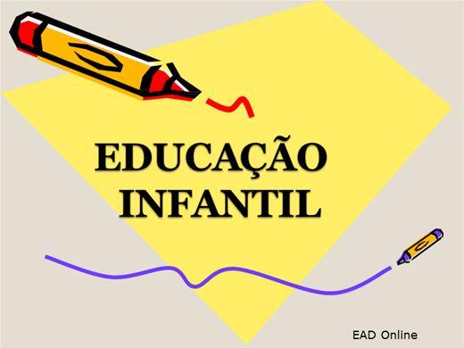 Curso Online de Educação Infantil - A infância