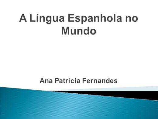 Curso Online de A Língua Espanhola no Mundo