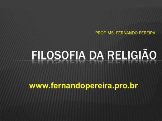 Curso Online de FILOSOFIA DA RELIGIÃO