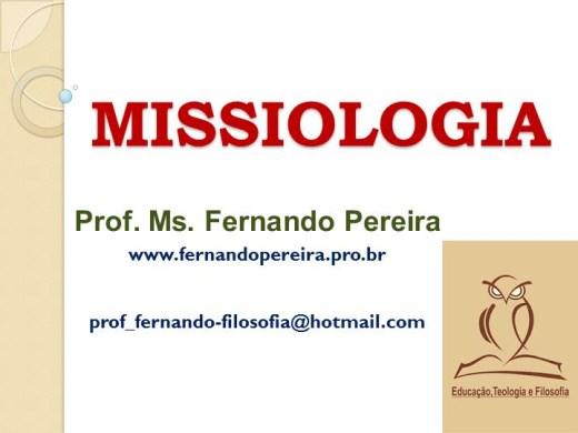 Curso Online de TEOLOGIA BÍBLICA DE MISSÕES - MISSIOLOGIA