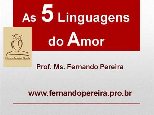 Curso Online de AS CINCO LINGUAGENS DO AMOR