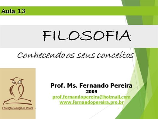Curso Online de FILOSOFIA - Conhecendo os seus conceitos