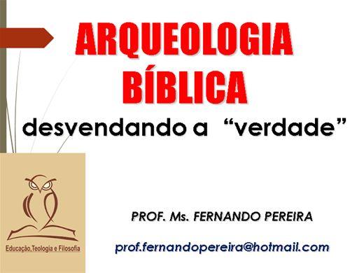 Curso Online de ARQUEOLOGIA BÍBLICA