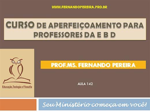 Curso Online de CURSO DE APERFEIÇOAMENTO PARA PROFESSORES DA EBD