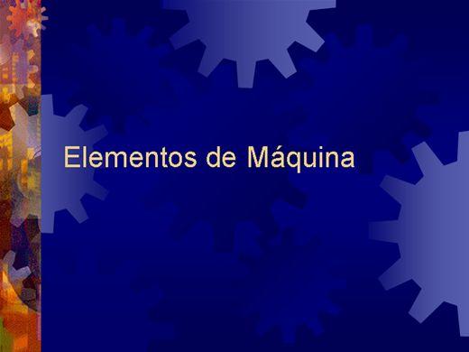 Curso Online de Elementos de Máquinas