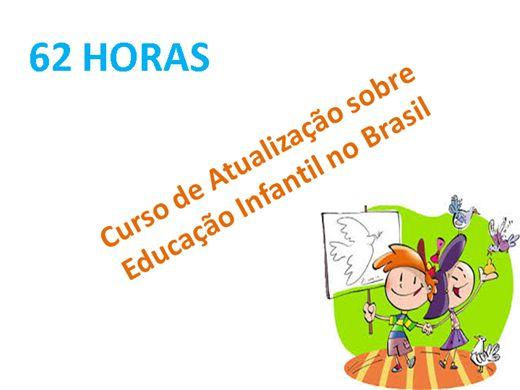 Curso Online de Atualização sobre Educação Infantil no Brasil