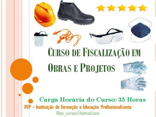 Curso Online de Fiscalização em Obras e Projetos
