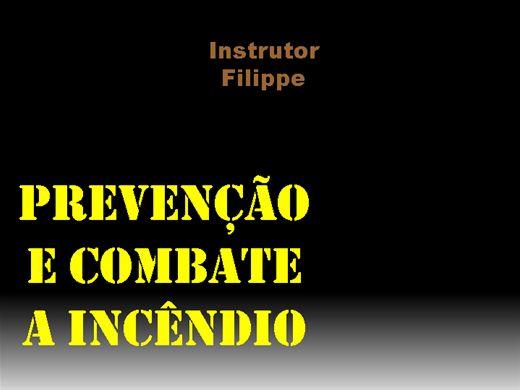 Curso Online de PCI - PREVENÇÃO E COMBATE A INCÊNDIO