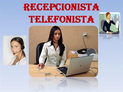 Curso Online de Recepcionista/Telefonista