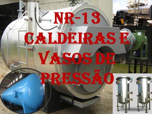 Curso Online de NR-13 CALDEIRAS E VASOS DE PRESSÃO