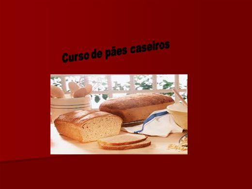 Curso Online de Curso de pães recheados, integrais e muitos mais.