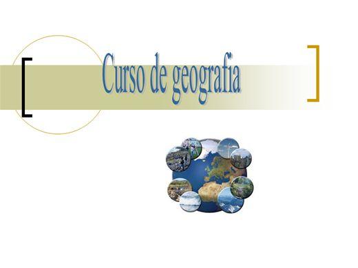 Curso Online de Curso de Geografia