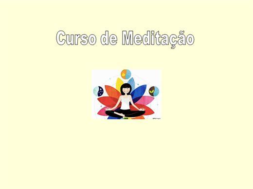 Curso Online de Curso de Meditação