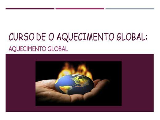 Curso Online de Curso de o aquecimento global