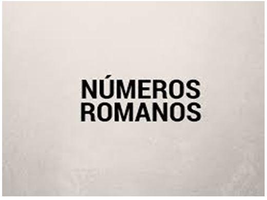 Curso Online de Algarismos romanos