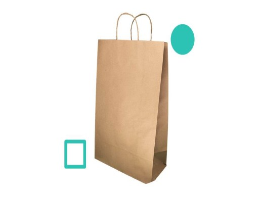 Curso Online de Aprenda a fazer sacolas de papel Kraft .