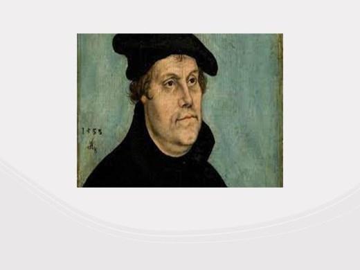 Curso Online de A vida de Martinho Lutero o principal fundador da igreja evangélica para concursos e vestibulares.