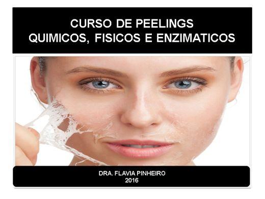 Curso Online de peelings químicos físicos e enzimaticos