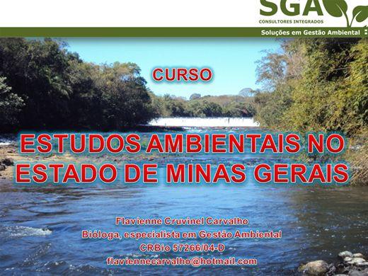 Curso Online de Estudos Ambientais no Estado de Minas Gerais