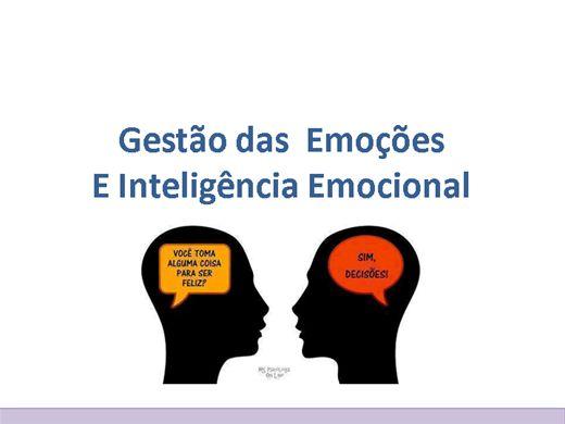 Curso Online de Use as emoções ao seu favor - Gestão das Emoções e Inteligência Emocional