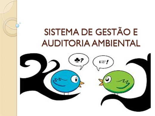 Curso Online de SGA-SISTEMA DE GESTÃO AMBIENTAL