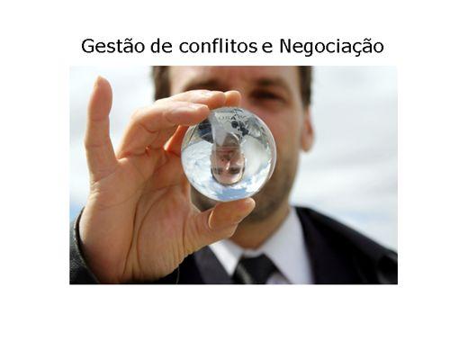 Curso Online de Gestão de conflitos e Negociação