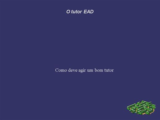 Curso Online de Tutor EAD/ Parte II