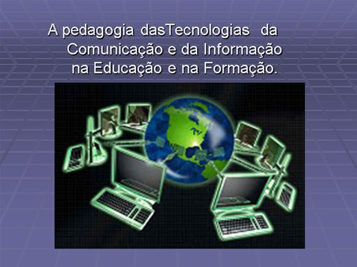 Curso Online de A Pedagogia das Tecnologias da Comunicação na Educação e na Formação