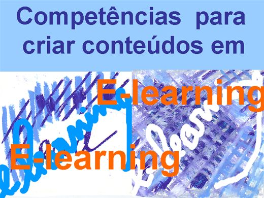 Curso Online de Competências para a criação de Conteúdos em elearning