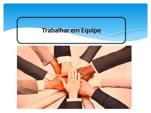 Curso Online de O trabalho em Equipe