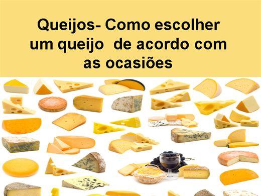 Curso Online de Queijos como escolher um queijo para as diversas ocasiões