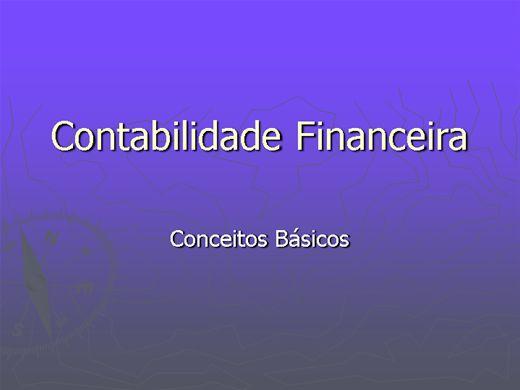 Curso Online de Contabilidade Financeira