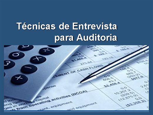 Curso Online de Técnicas de Entrevista para Auditoria