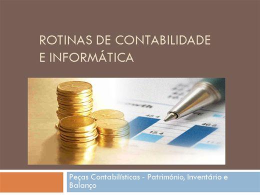 Curso Online de  CONTABILIDADE E INFORMÁTICA