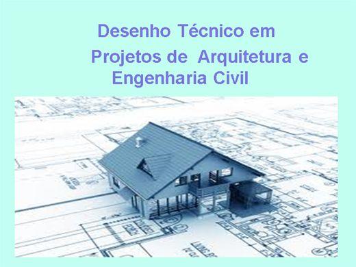 Curso Online de Desenho Técnico em Projetos de  Arquitetura e  Engenharia Civil