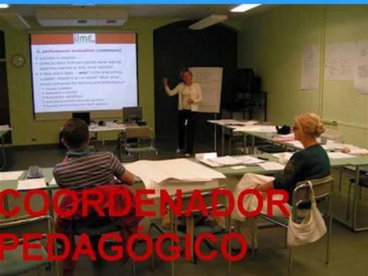 Curso Online de COORDENADOR PEDAGÓGICO