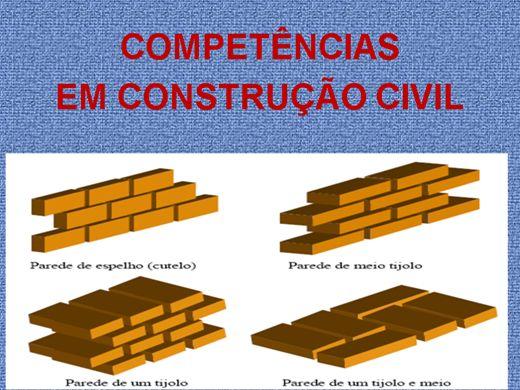 Curso Online de COMPETÊNCIAS EM CONSTRUÇÃO CIVIL
