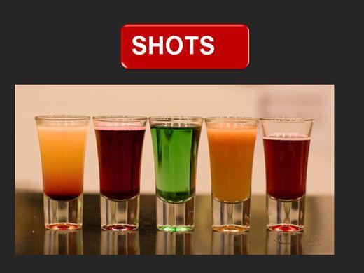 Curso Online de RECEITAS DE SHOTS E OUTROS DRINKS