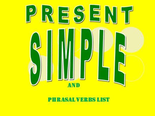 Curso Online de GRAMÁTICA INGLESA: PRESENT SIMPLE