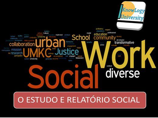Curso Online de ESTUDO E RELATÓRIO SOCIAL